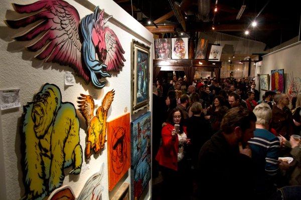 Pancakes & Booze Art Show Underground Arts - Philly