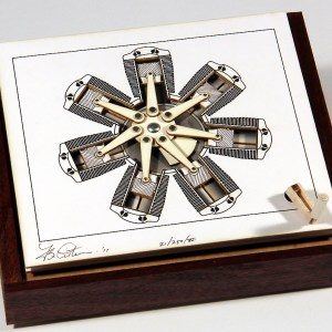 The Radial Engine MechaniCard by Brad Litwin