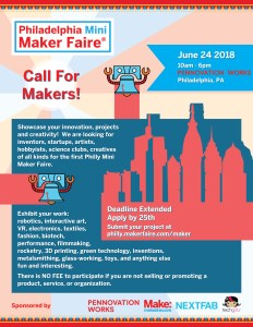 Call for makers flyer