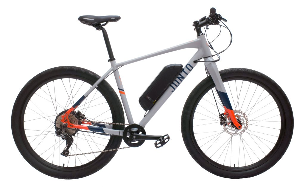 JUNTO Electric Bikes Grey