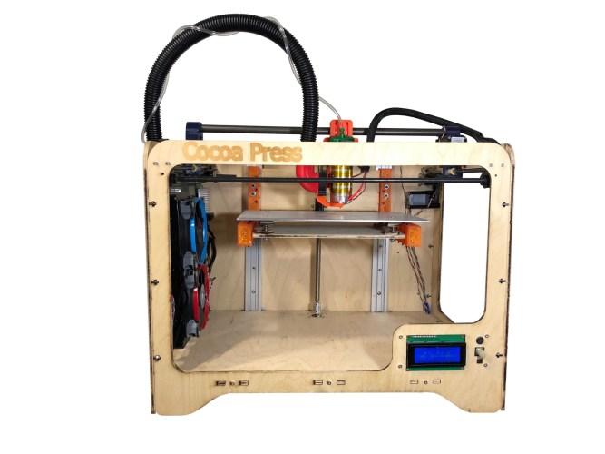 Cocoa Press Chocolate 3D Printer