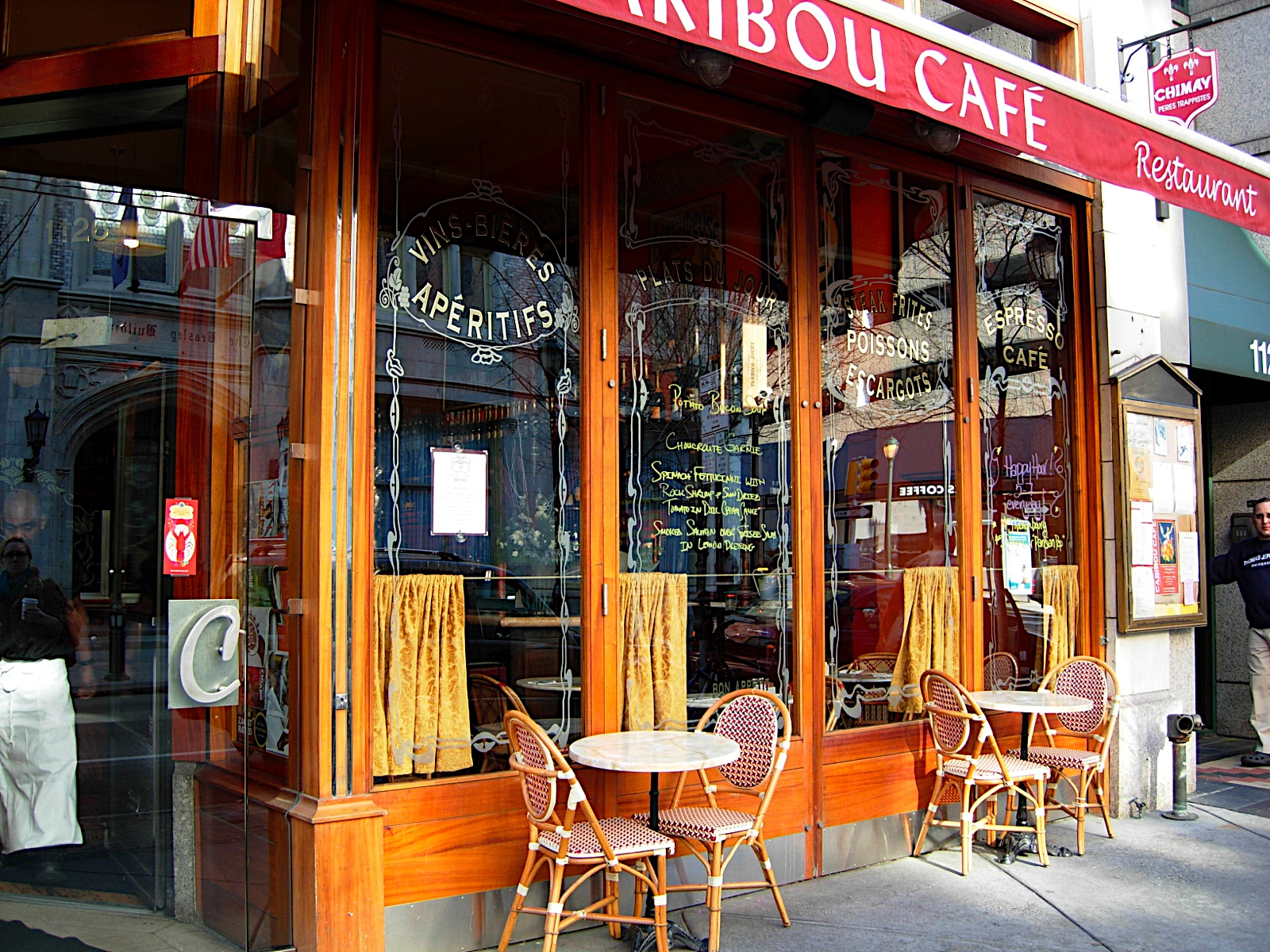 Caribou Cafe  Drink Philly  The Best Happy Hours Drinks