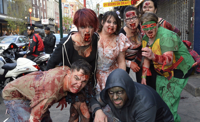 This Weekend Crawl With Zombies Brunch With Stoners and