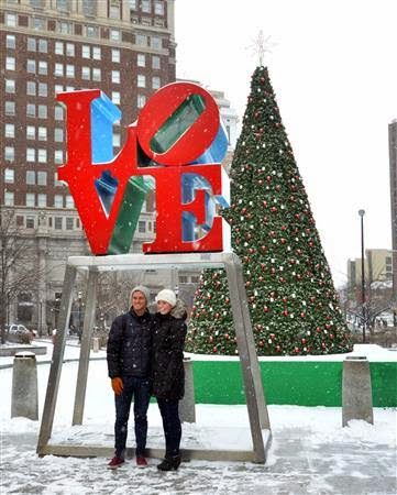 Snow Day Rittenhouse Square – Plus Views from a Apartments on the Snowy Square