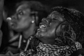 Ferguson protester in Philadelphia, Photo by Joshua Albert