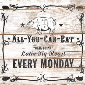 Every Monday at Cuba Libre Philadelphia: All-You-Can-Eat Latin Pig Roast Dinner All Summer Long