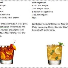 Father's Day Whiskey Bourbon Drinks