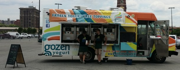 Gozen Yogurt Food Truck