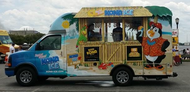 Kona Ice Shaved Ice and Ice Cream Truck