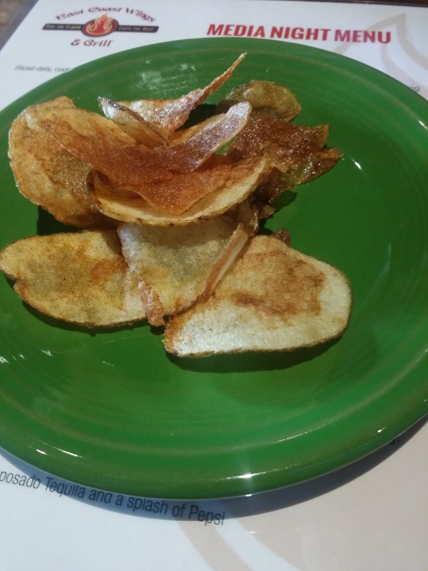 These fresh potato chips were very good, some were crispy and others were soft, with just enough salt. Seriously yum!