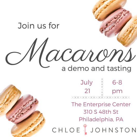 Chloe Johnston Macaron Tasting