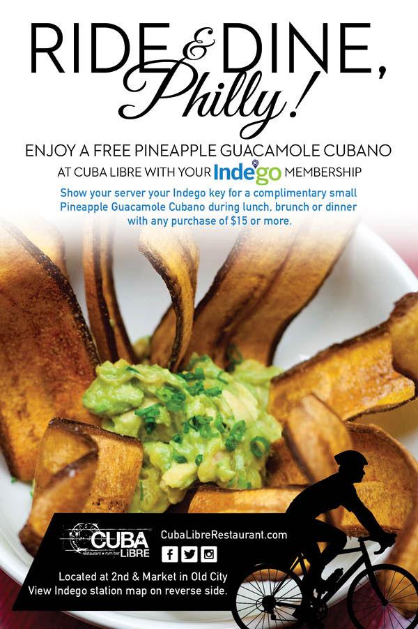 Cuba Libre Indego Collaboration