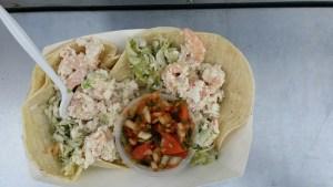 Wandering Chef Cart Shrimp Tacos