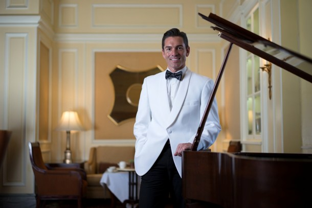 Jeffrey Hattrick Afternoon Tea Specialist at the Ritz Carlton Hotel