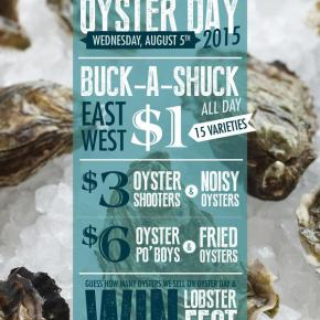 Where to Celebrate National Oyster Day in Philadelphia