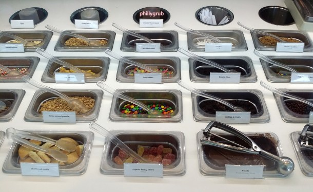 Pinkberry Toppings