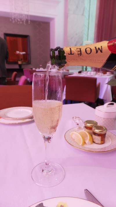 """Get the """"Royal Tea"""" for unlimited champagne fills."""