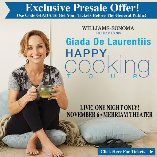 Giada De Laurentiis Book Tour Philadelphia