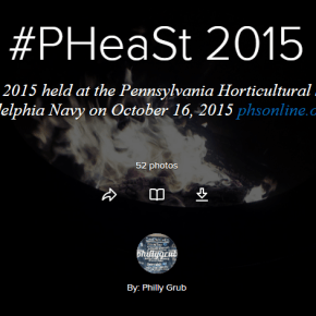 Flashback Friday: #PHeaSt 2015
