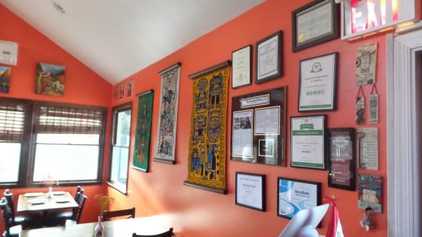 Dining Room at El Tule Restaurant