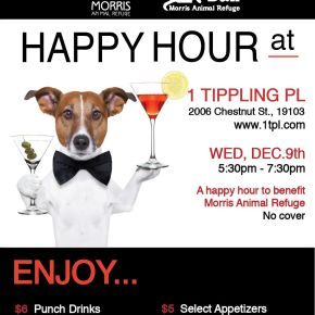 Morris Animal Refuge Fur Ball Happy Hour at 1 Tippling Place