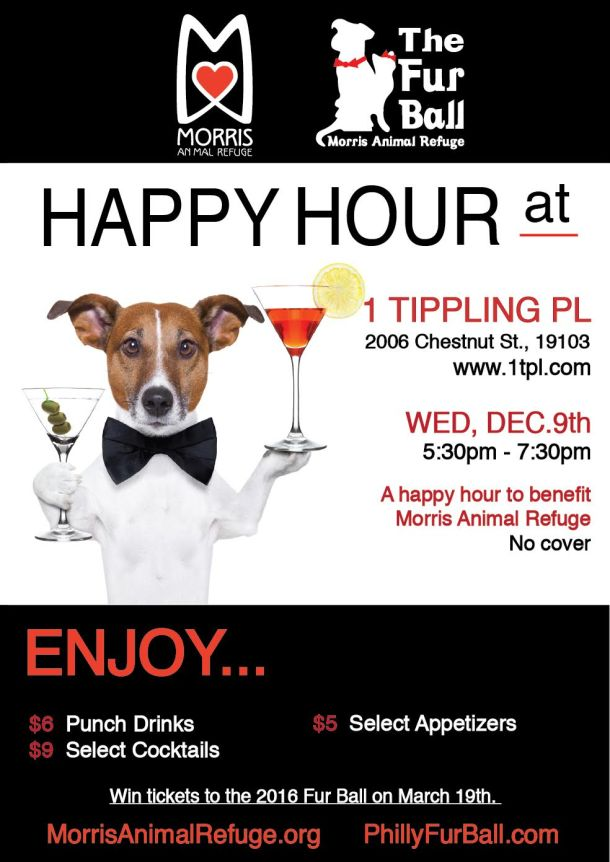 Morris Animal Refuge Happy Hour Benefit