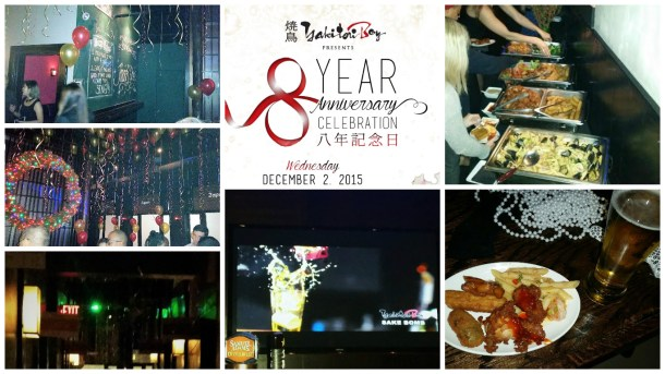 Yakitori Boy 8th Anniversary Celebration