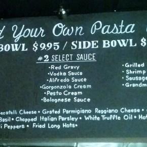 "Marino's Bistro To Go Reveals ""Build Your Own Pasta Bowl"""