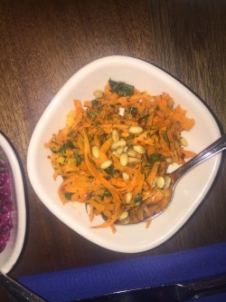 Zahav Carrots with Lemon & Pine Nuts