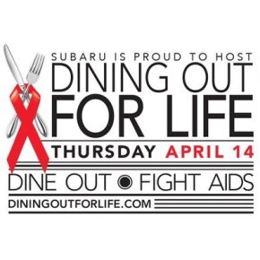 New Participating Restaurants for Dining Out For Life in Philadelphia on April 14th