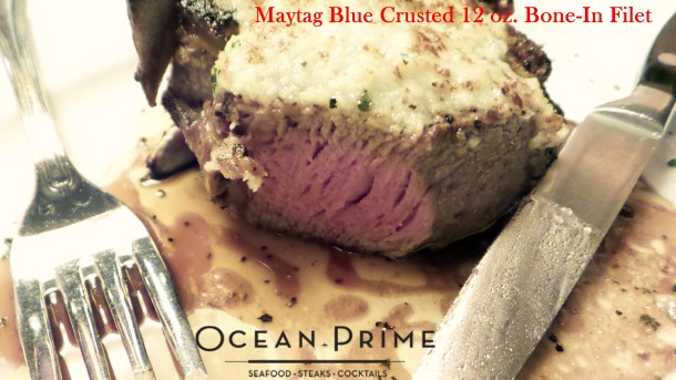 Ocean Prime - 12 oz. Bone-In Filet