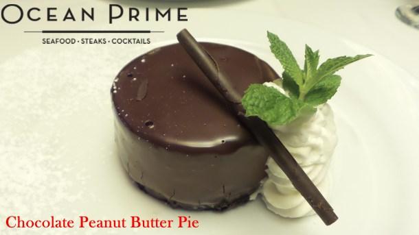 Ocean Prime - Chocolate Peanut Butter Pie