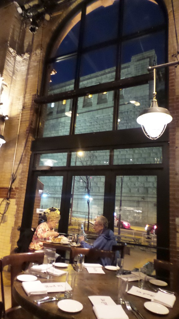 Table by Window at La Peg at Fringe Arts