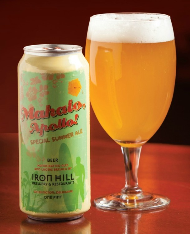 Iron Hill Brewery Mahalo, Apollo!