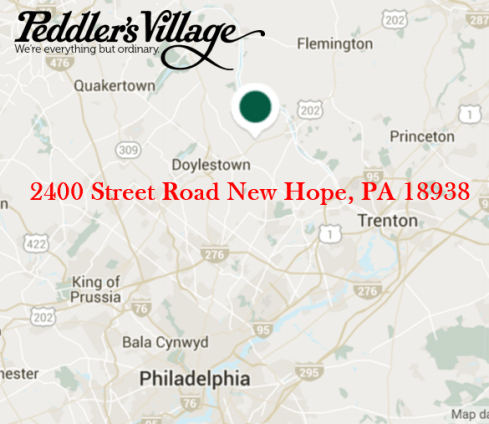 Peddler's Village Google Map