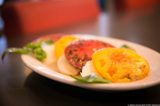 Cotoletta Caprese Salad