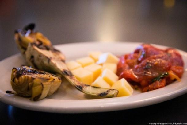 Cotoletta Belmont Hills Grilled Artichoke