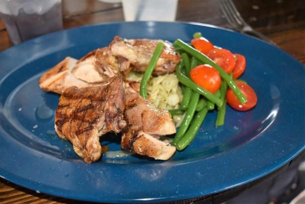 Slow-Cooked Half Chicken at Morgan's Pier