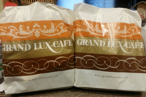 Grand Lux Cafe Delivery by Grubhub