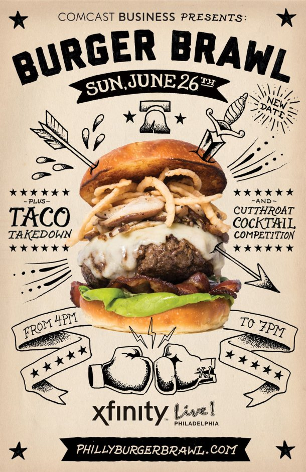 Burger Brawl Taco Takedown 2016