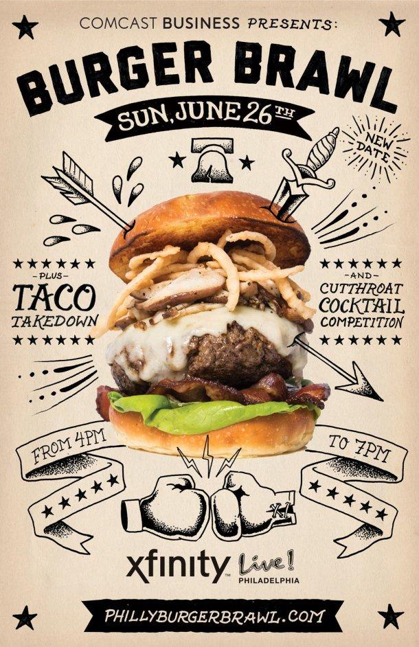 Burger Brawl Taco Takedown 2016