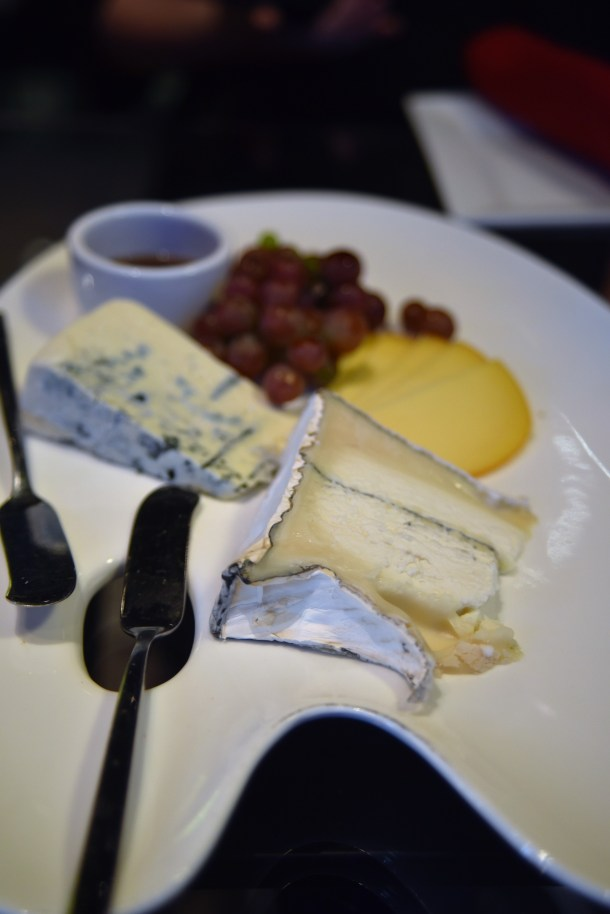 Cheese Plate at Art Bar Sonesta Philadelphia