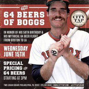 64 Beers of Boggs at City Tap House Logan