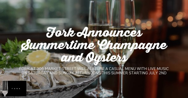 Fork Oysters and Champagne