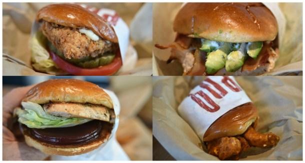 PDQ Cherry Hill Sandwiches