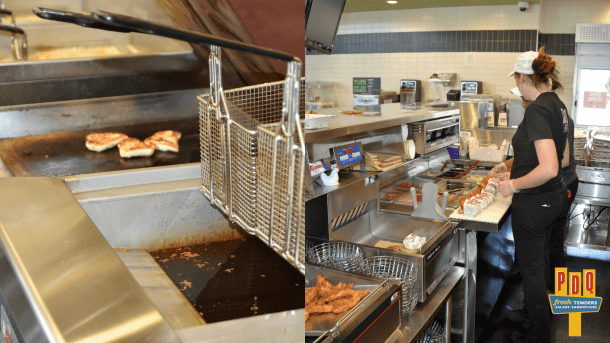 PDQ Cherry Hill Food Prep Area