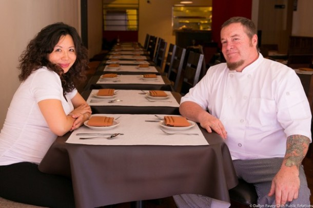 Gigi co-owners Jacqueline Au and Chef Craig Wilson