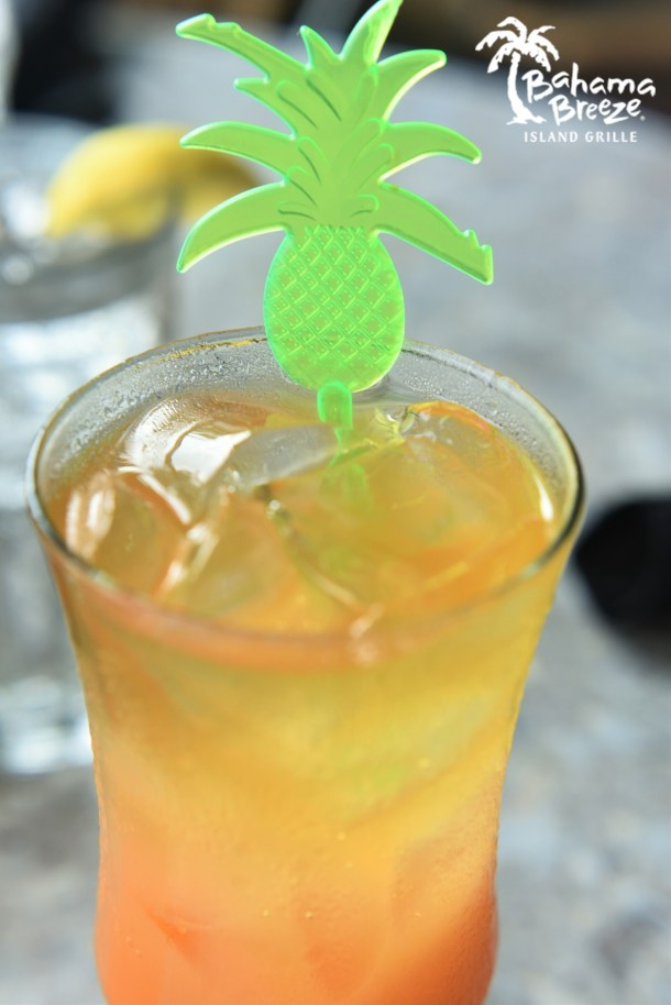 Bahama Breeze ReggaeFest One Love Cocktail