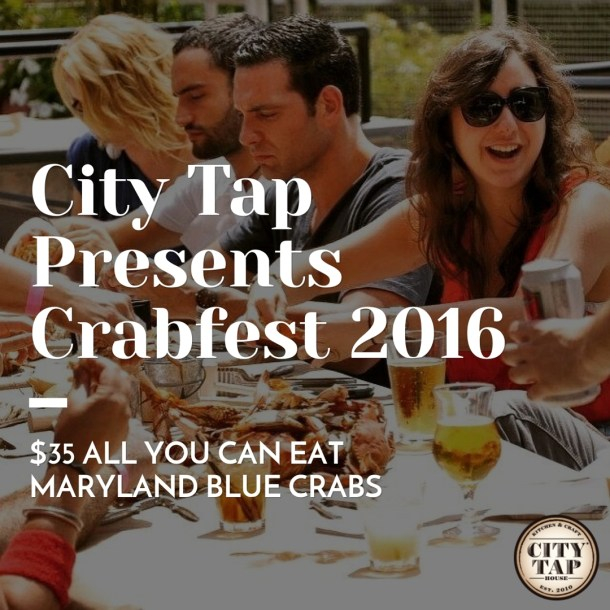 City Tap House Crabfest 2016