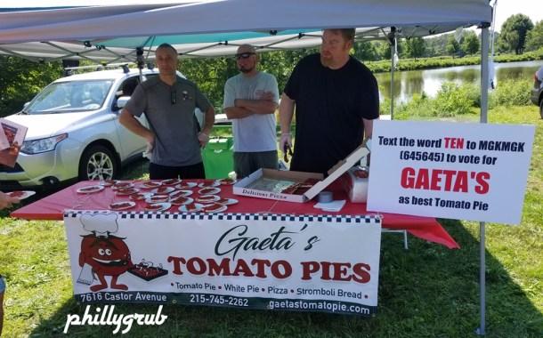 Gaeta's Tomato Pie at Tomato Fest